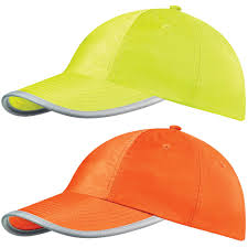High visibility baseball caps Image