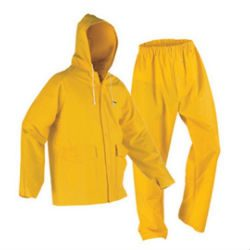 2 pc rain suits Image