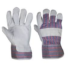 Candy stripe gloves Image