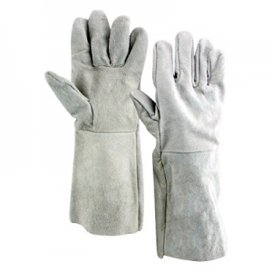 chrome leather gloves Image