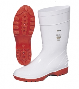 white gumboots Image