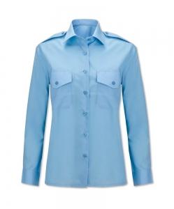 Sky blue pilot shirt Image