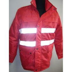 reflective security jacket Image