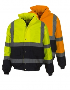 Hi viz two two toned fleeced jackets Image