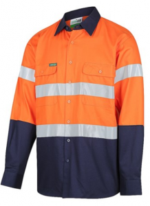 Two tone safety shirt Image